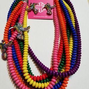 Sassy Jones - Temba Necklace and Earring Set